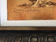 Arbre-Petite (Gold) 2014 10x8 Original Painting by Patrick Guyton - 2