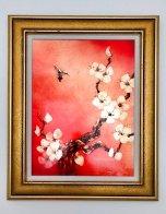 Crimson Glory 2014 23x17 Original Painting by Patrick Guyton - 1