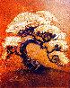 Arbre-Petite (Gold) 2014 16x18 Original Painting by Patrick Guyton - 0