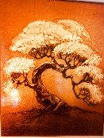Arbre-Petite (Gold) 2014 16x18 Original Painting by Patrick Guyton - 1