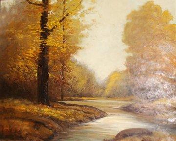 Autumn 1961 26x30 Original Painting - Woody Gwyn