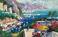 Petit Dejeuner  1995 38x55 Original Painting - Kerry Hallam