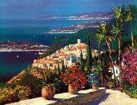 Mediterranean Suite: Eze Village and Mediterranean View 1993 Limited Edition Print by Kerry Hallam - 6