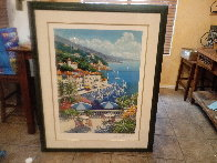 Portofino Limited Edition Print by Kerry Hallam - 1