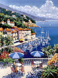 Portofino Limited Edition Print by Kerry Hallam