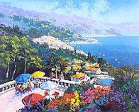 Sur La Terrace 1992 Limited Edition Print by Kerry Hallam - 0
