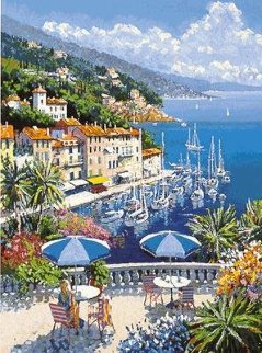 Port in Bay PP Limited Edition Print by Kerry Hallam