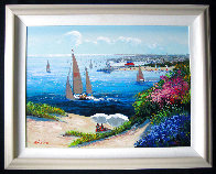 Afternoon Reverie 2000 Embellished Limited Edition Print by Kerry Hallam - 1