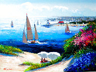 Afternoon Reverie 2000 Embellished Limited Edition Print by Kerry Hallam - 0