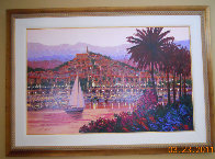 Riviera Twilight Limited Edition Print by Kerry Hallam - 1