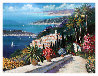 Eze Village Limited Edition Print by Kerry Hallam - 0