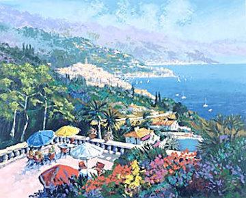 Sur La Terrace 1992 Limited Edition Print by Kerry Hallam