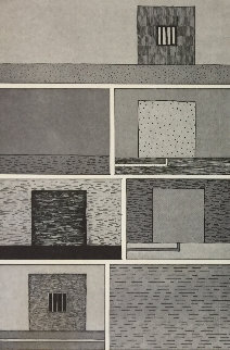 Untitled (From the Bam III Portfolio) 1991 Limited Edition Print - Peter Halley