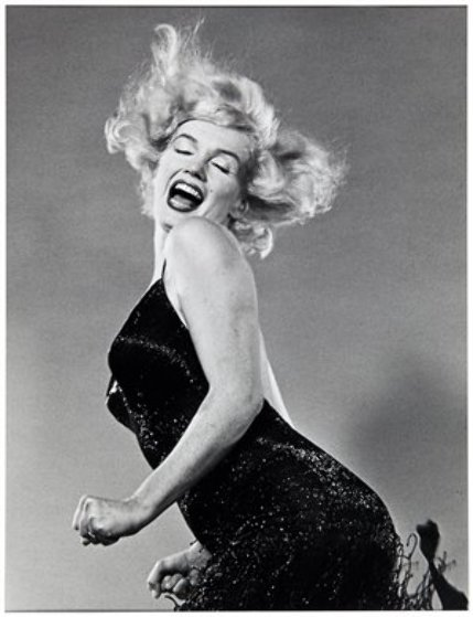 Marilyn Monroe, Jumping 1959 Photography by Philippe Halsman