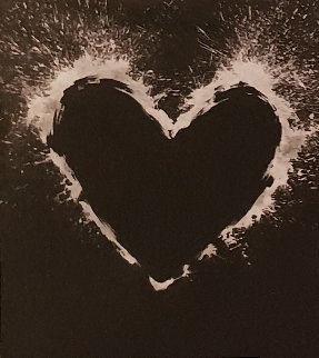 Heart 2000  Unique on Aluminum 2000 55x44  Limited Edition Print - Richard Hambleton