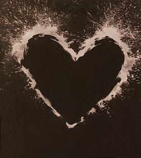 Heart 2000  Unique on Aluminum 2000 55x44  Limited Edition Print by Richard Hambleton