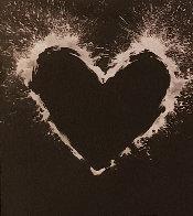 Heart 2000  Unique on Aluminum 2000 55x44  Huge Limited Edition Print by Richard Hambleton - 2