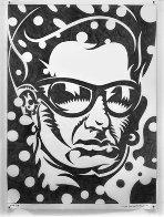Bono 2008 45x35 Drawing by John Van Hamersveld - 1