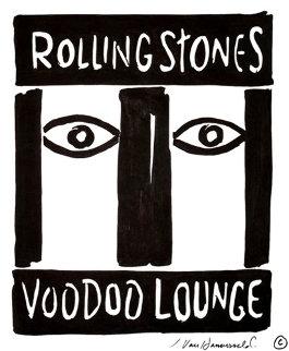 Rolling Stones: Voodoo Lounge 1993 Drawing - John Van Hamersveld