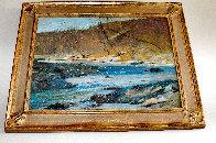 Woodstock Stream 15x19 Original Painting by Albert Handell - 1