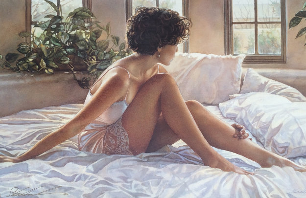 Southwestern Bedroom Limited Edition Print by Steve Hanks