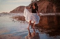 Reflecting on Indian Beach AP 2009 Limited Edition Print by Steve Hanks - 0