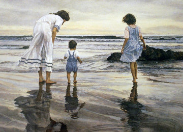 Silver Strand 1990 Limited Edition Print - Steve Hanks