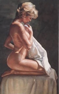 After the Bath AP Limited Edition Print by Steve Hanks