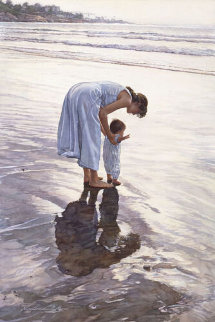 Standing on Their Own Two Feet 1996 Limited Edition Print by Steve Hanks