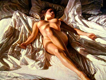 Like an Angel 2010 Limited Edition Print by Steve Hanks