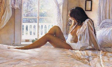 Her Side 1996 AP Limited Edition Print by Steve Hanks