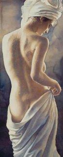 After the Shower Limited Edition Print - Steve Hanks