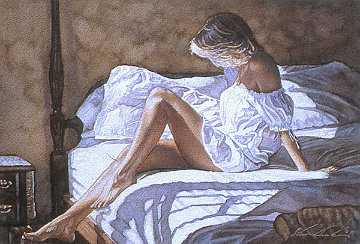 Sheets of White 2005 Limited Edition Print by Steve Hanks