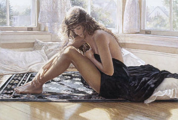 Comforting the Heart 2001 Limited Edition Print - Steve Hanks