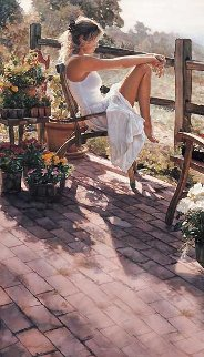 Where the Healing Begins 2000 Limited Edition Print - Steve Hanks