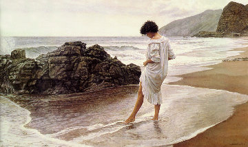 Pacific Sanctuary    1992 Limited Edition Print by Steve Hanks