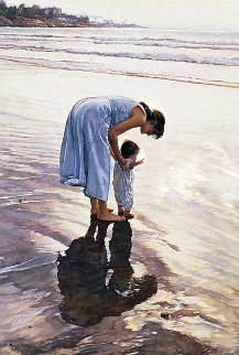 Standing on Their Own Two Feet PP 1995 Limited Edition Print - Steve Hanks
