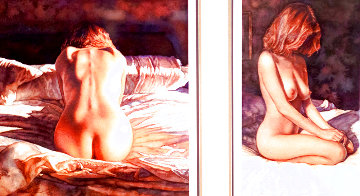 Mysteries Suite: As Mysteries Uncover and Mysteries Untold 1997 Set of 2 Limited Edition Print - Steve Hanks