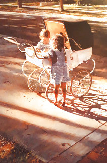 Where the Light Shines Brightest 1994 Limited Edition Print - Steve Hanks