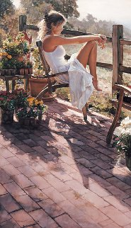Where the Healing Begins Limited Edition Print by Steve Hanks