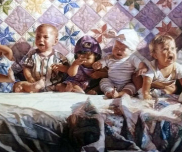 All Gone Awry 1993 Limited Edition Print by Steve Hanks