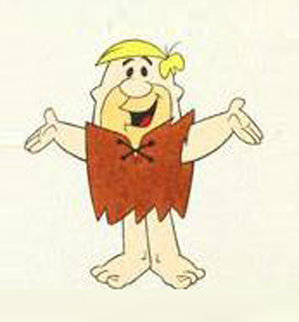 Barney Rubble 1994 Limited Edition Print by  Hanna Barbera