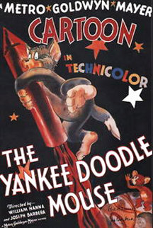 Yankee Doodle Mouse Poster HS 1996 Limited Edition Print by  Hanna Barbera