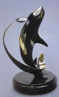 Power Play Bronze Sculpture 14 in Sculpture - Scott Hanson