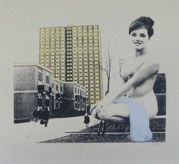 Fond of Bond 2011 Limited Edition Print - Sarah Hardacre