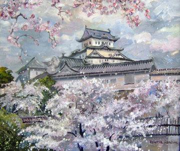 Castle Spring Original Painting - Rebecca Hardin