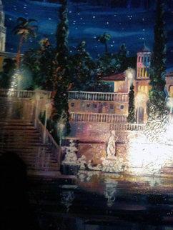 Starry Night at San Simeon, California Limited Edition Print by Rebecca Hardin