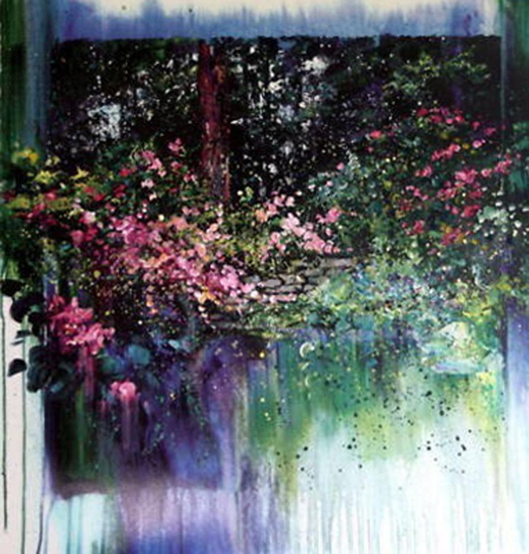 Rebecca's Garden 1996 Limited Edition Print by Rebecca Hardin