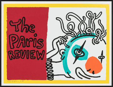 Paris Review 1989 Limited Edition Print by Keith Haring