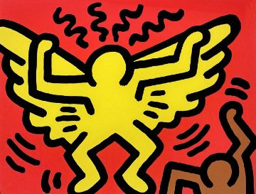 Pop Shop IV 1989 Limited Edition Print - Keith Haring